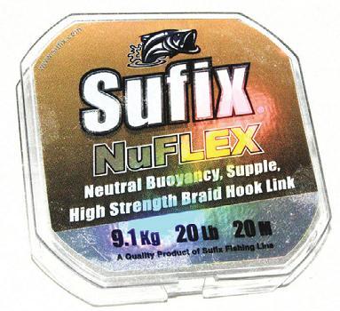 материал NuFlex от Sufix