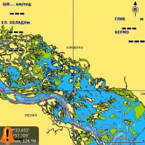 """Карта """"Дельта Дуная"""" NAVIONICS GOLD"""